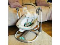 Ingenuity Convertme Swing Chair/Seat 2 in 1 Wimsical Wonders EXCELLENT COND.