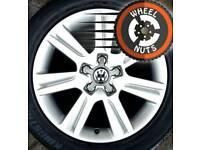 "17"" Genuine Audi alloys Golf Caddy perfect cond good tyres."