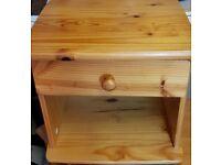 Lovely pine bedside cabinet