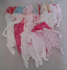 Baby Girl clothes bundle (0-3 months) for sale £20