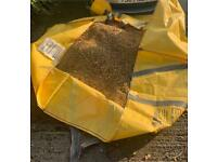 Large bag of natural decorative gravel