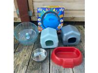Hamster Ball and Accessories - New