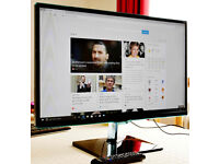 """Samsung 27"""" 1080P monitor with TV function"""
