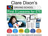 Female Driving Instructor covering Derby and surrounding areas.