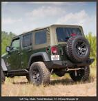 Jeep Wrangler JKU '07-'09 Soft top Khaki