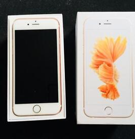 iPhone 6s 16GB ROSE GOLD UNLOCKED in Perfect condition