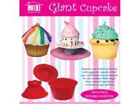 Big top giant cupcake mould