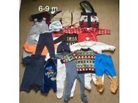 Baby boy's clothes bundle s 6-9months