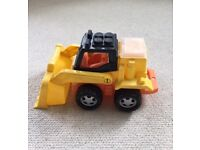 Toy Digger Tractor