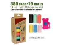 Dog poo bags eco friendly waste bags