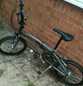 Adults Viking folding bike in excellent condition.