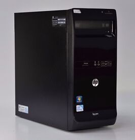 WINDOWS 7 HP PRO 3400 DUAL CORE 2.70 TOWER PC COMPUTER - 2GB RAM - 320GB HDD