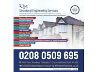 Chartered Structural Engineers, Structural Calculations and Inspection, Party wall Survey