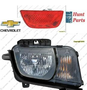 Chevrolet Head Lamp Tail Headlight Headlamp light Fog Mirror Phare Avant Arrière Antibrouillard Lumière Miroir