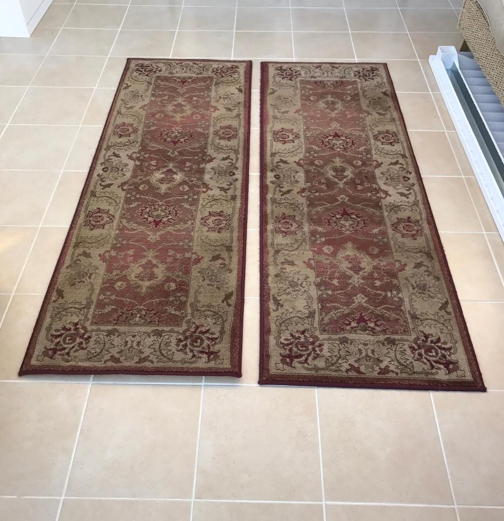 Set Of 2 Next Floor Runners Rugs Hall Carpets