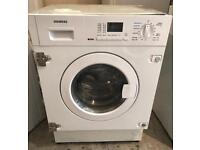 DIGITAL SIEMENS IQ300 INTEGRATOR WASHER & DRYER 3 MONTH WARRANTY, FREE INSTALLATION