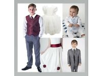 Clothing - Joblot - Clearance - Party wear - Christening - Dresses - Suits - Waistcoats – Shirts