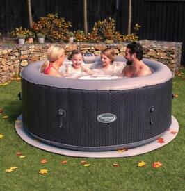 CleverSpa corona 4 person inflatable hot tub