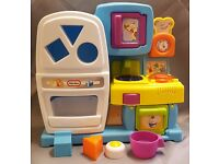 Little Tikes Discover Sounds Kitchen, Pretend Play Kitchen and Shape Sorter