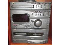 JVC Stereo Unit (Model CA-MXS2BK)