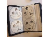 80 DVD Case (and complete Charlie Chaplin collection of 20 CDs) - NEW & UNUSED