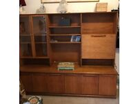 Mid Century wall unit/ cabinet/ display.