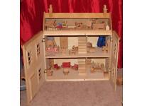ELC wooden dolls house