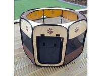 Portable Dog or pet play pen or cage
