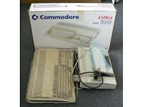 Amiga 500, printer and softwear
