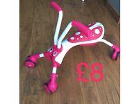 Scramblebug Ride on Pink