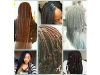 Friendly Mobile Afro Caribbean/Caucasian hairdresser (all braids,weaves,crotchet,wigs & more)