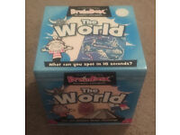 2 BrainBox Sets - The World and Maths - £5 EACH