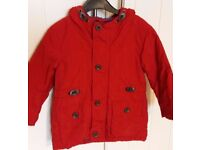 Boys Next coat aged 1 ½ -2 years