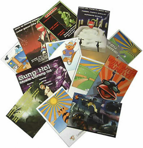 """2500 Full Color 2 Sided REAL PRINTING 5.5"""" x 8.5"""" Flyers Brochures Aqueous Gloss"""