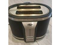 Breville Black and Steel Toaster