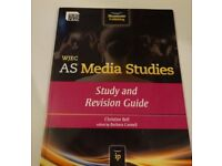 WJEC AS MEDIA STUDIES: STUDY AND REVISION GUIDE CHRISTINE BELL PAPERBACK