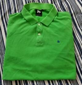 XL green 'money' moneyclothing polo shirt