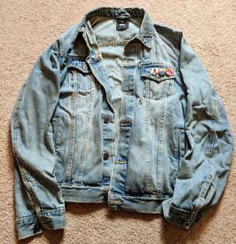 ASOS Light Wash Denim Jacket Size L