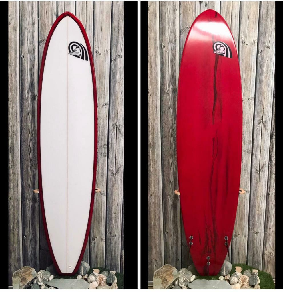 1ef0835a9d 7'6 Laughing Dog Mini Mal Surfboard for sale. Special Offer for stock  clearance | in Newquay, Cornwall | Gumtree