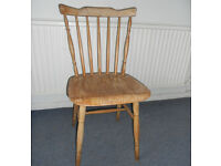 Stick Back Chair Ideal for Painting
