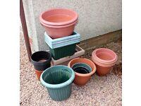 Garden Pots - asstd