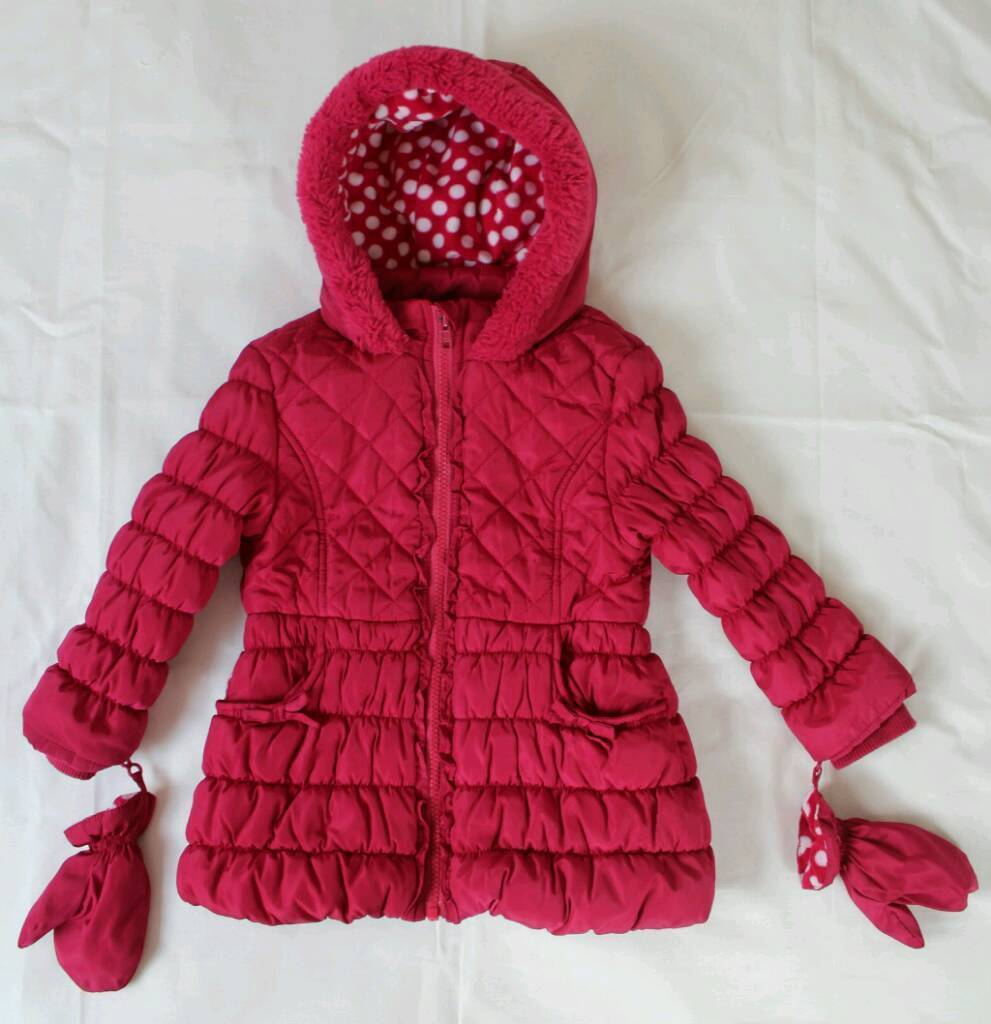 Girl's Coat, Size 18-24 months