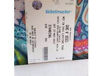One Guns N' Roses Ticket