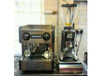 PROMAC CLUB ME 1GR COFFEE MACHINE + COFFEE GRINDER