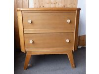 Small 1960s Retro CHEST DRAWERS Ideal Upcycle Project