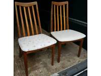 Four gplan Dining chairs