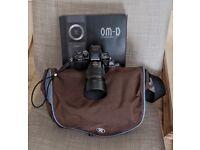 Olympus EM-10 mkii body+ Panasonic telephoto lens