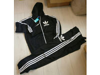 ADIDAS HOODED TRACKSUITS