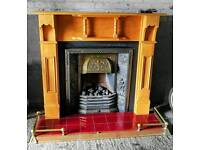 Complete Fireplace & Open flame gas fire
