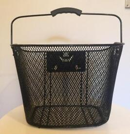 Wilko bicycle wire mesh basket NO BRACKET